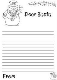 letter to santa template printable black and white 13 best christmas images on pinterest christmas activities