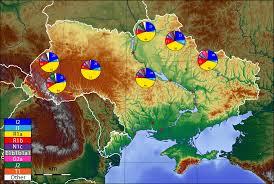 Map Ukraine Ukraine Y Dna Map