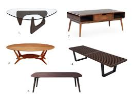mid modern coffee table 5 irresistible mid century modern coffee tables