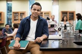 Student At Desk by Before You Buy A Chemistry Textbook