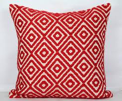 ikea red decorative pillows great home decor selecting red