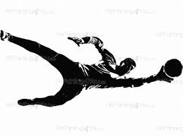 football goalkeeper wall decals vdd1080en artpainting4you eu
