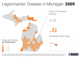 Map Of Counties In Michigan by Animation A Recent History Of Legionnaires U0027 Disease In Michigan