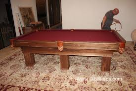 Peter Vitalie Pool Table by Rustic Goes To Los Angeles Dk Billiards Pool Table Sales U0026 Service