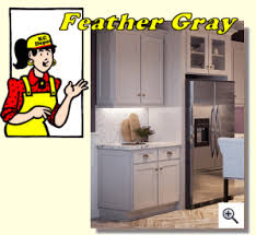 feather gray kitchen cabinet depot