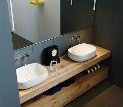mobile bagno grezzo arredo bagno legno grezzo rovere antico l 170 cm
