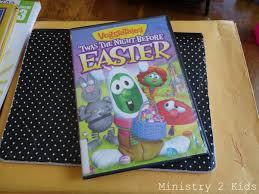 veggie tales easter veggietales twas the before easter ministry 2 kids