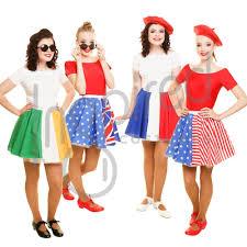 Flag Dress France Fancy Dress Ebay