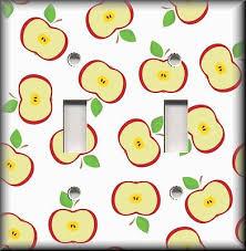 Apple Home Decor Switch Plate Covers Apples Collection On Ebay