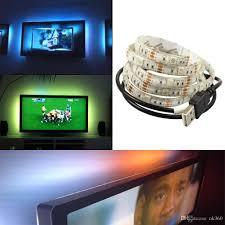 Led Strobe Light Strips by Usb Led Strip Light Waterproof 4 5v Smd 5050 3528 Strip Light 0 5m
