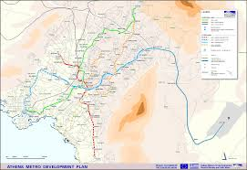 Where Is Greece On The Map by Athens Metro Athens Info Guide