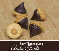 easy thanksgiving acorn treats my me best baby gear