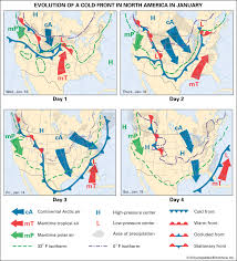 frontal boundary map occluded front meteorology britannica com