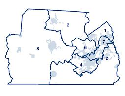 Sc County Map County Council York Sc