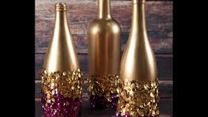 wine bottle decorative ideas
