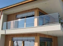 glas balkon balkongeländer ein ideen balkon haus dekoration aussen
