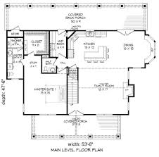country house plan with 3 bedrooms and 3 5 baths plan 2018