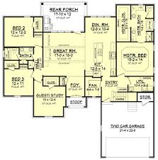 dimensioned floor plan corbin house plan u2013 house plan zone