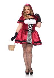 Size 5x Halloween Costumes Gothic Red Riding Hood Size Costume