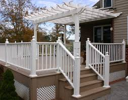 Pergola Post Design by Vinyl Vintage Classic Wall Mount Pergolas Pergolas By Style