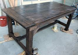 diy farm table plans complete outdoor table and benches plans gurawood