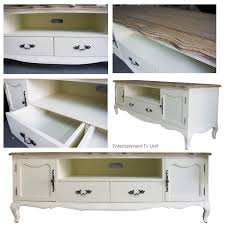 Furniture Tv Unit French Provincial Furniture Entertainment Unit Tv Stand In White