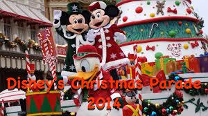 disney u0027s christmas parade 2014 disneyland paris youtube
