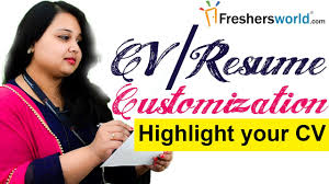 resume customization reasons cv resume customization effective ways to make your cv stand out