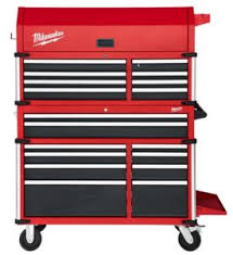 Milwaukee Cabinet Milwaukee 46 Inch High Capacity Steel Storage Combo Shop Tool