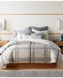 Macys Bedding On Sale Now 66 Off Hotel Collection Modern Plaid King Comforter