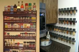 kitchen spice storage ideas how to make your kitchen an free area
