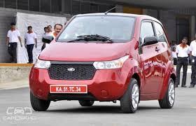 Mahindra Reva E20 Interior Mahindra Launches E2o In The Uk