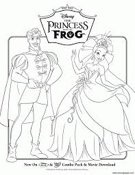 The Princess And The Frog Disney Princess Coloring Pages Princess And The Frog Colouring Pages