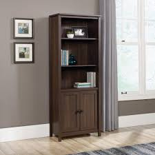 amazon com sauder county line library bookcase with doors