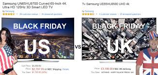 black friday 2014 amazon tv black friday deals uk deals vs us offers