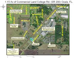 Map Of Ocala Florida by For Sale 749 000 College Road Parcel Ocala Florida Gus