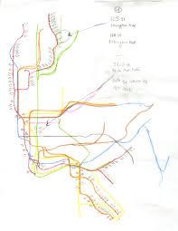 Hopstop Nyc Subway Map by Sarah Piper Goldberg