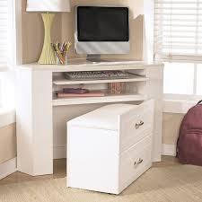 ashley furniture corner desk lulu corner desk media unit w stool signature design by ashley