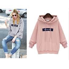 big size thick velvet hoodie women hoodies sweatshirts adventure