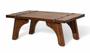country style coffee table sky country style mahogany coffee table with metal accent strips