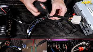 wiring a 2 or 4 channel amp to your stock speaker harness without