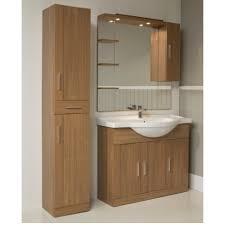 Oslo Bathroom Furniture Walnut Furniture Pack