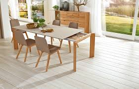 dining room table extension slides calleo dining table wöstmann