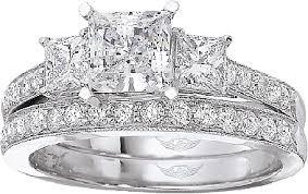 princess cut 3 engagement rings flyerfit three princess cut pave engagement ring 5137spr