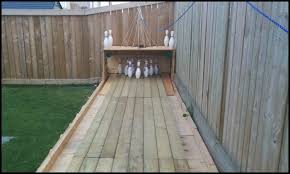 Build Your Own Backyard by Build Your Own Backyard Bowling Alley