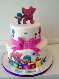 pocoyo cake toppers sweettreatfavors pocoyo birthday party ideas