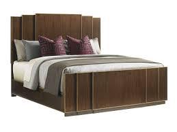 Fairmont Furniture Designs Bedroom Furniture Tower Place Fairmont Panel Bed Lexington Home Brands