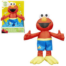 Elmo Bathroom Accessories Sesame Street Bath Time Elmo Plush Toy Hasbro Sesame Street