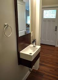 Small Powder Room Sinks Bathroom Transitional With None Ideas For