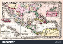 Map Of West Indies West Indies Central America 1763 Map Of The West Indies 1763 Map